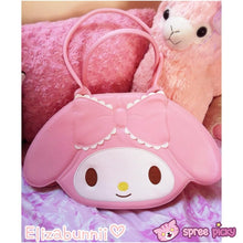 Load image into Gallery viewer, Lolita Lovely My Melody Bunny Hand Bag SP130300 - SpreePicky  - 1