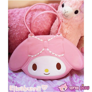 Lolita Lovely My Melody Bunny Hand Bag SP130300 - SpreePicky  - 1