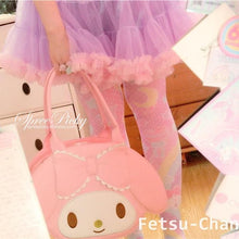 Load image into Gallery viewer, Lolita Lovely My Melody Bunny Hand Bag SP130300 - SpreePicky  - 3
