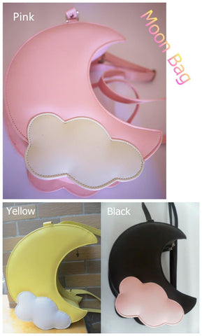 Lolita Moon PU Bag Cross Bag- 8 Colors SP130320 - SpreePicky  - 2