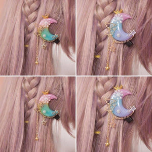 Fairy Moon Star Wings Hairpin SP1710330