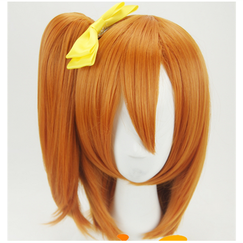 LoveLive! School Idol Project Kousaka Honoka Performance Cosplay Wig With Pony Tail SP141254 - SpreePicky  - 1