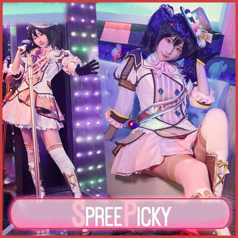 Love Live Ice cream Idolized Cosplay Costume SP1711403