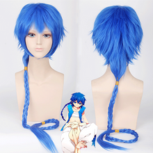 Load image into Gallery viewer, Magi Aladdin Royalblue Cosplay Wig SP167307
