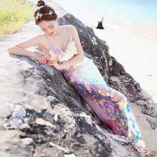Load image into Gallery viewer, Mermaid Paillette Long Dress SP13707