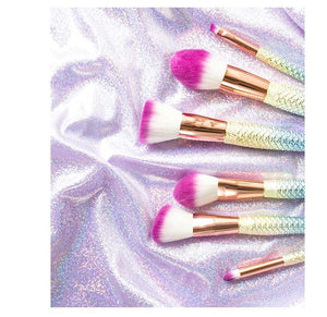 Mermaid Tail Beauty Makeup Brush Set SP1710196
