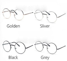 Load image into Gallery viewer, Golden/Silver/Black Metal Glasses with Lolita Cross Chain SP165744