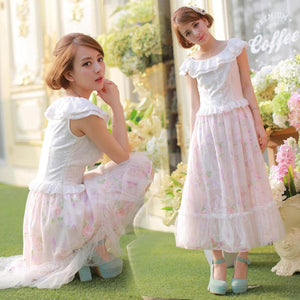My Fairy Lady Dreamy Floral Dress SP152142 - SpreePicky  - 4