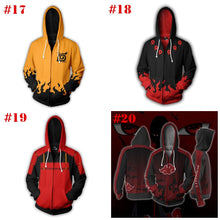 Load image into Gallery viewer, NARUTO Character Hoodie Jacket Coat SP14161