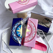 Load image into Gallery viewer, Navy/Pink Cardcaptor Sakura Glasses Case SP14387