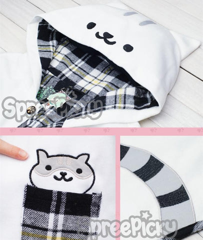 Neko Atsume Cute Cat Cloak Coat Hoodie Poncho SP166760