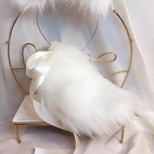Fluffy Yutu Ears Headwear and Tail SP15172