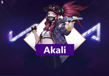 Load image into Gallery viewer, Akali K/DA Ahri Glow In Cosplay Hat SP13251