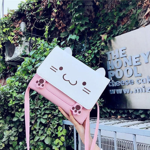 Kawaii Cats Cross Body Bag SP13305