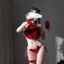 Load image into Gallery viewer, Sexy Lingerie Bunny Girl Cosplay Costume Velvet Underwear SP15393