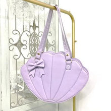 Load image into Gallery viewer, Sweet Lolita Big Shell Bag Cute Bowknot Cosplay Bag SS0799