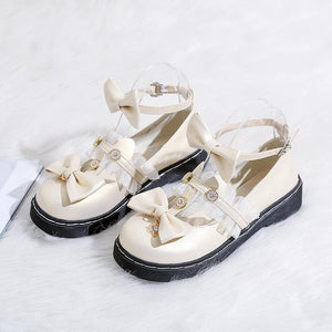 Lolita Vintage Little Leather Shoes SP15156
