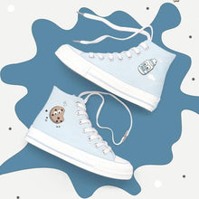 Load image into Gallery viewer, Cute Milk Cookie Canvas Shoes SP15070