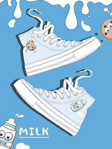 Cute Milk Cookie Canvas Shoes SP15070