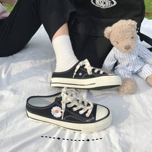 Load image into Gallery viewer, Kawaii Daisy  Half Drag Canvas Shoes SP15233