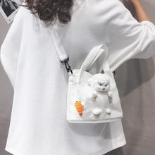 Load image into Gallery viewer, Cartoon Lamb Doll Canvas Cross Body Bag SS0519