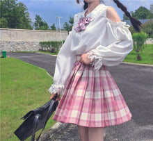Load image into Gallery viewer, Lolita Doll Collared Jk Uniform Long Sleeves Shirt SP15454
