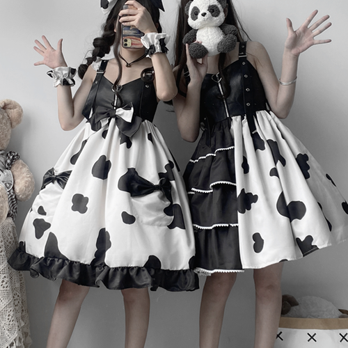 Sweet Spotted Lolita Dress SP15804