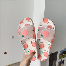 Load image into Gallery viewer, Kawaii Cartoon Fruit Beach Slippers SP14840