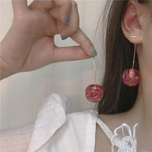 Load image into Gallery viewer, Cute Cherry Earrings SP15071
