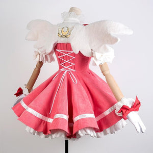 Card Captor Sakura Falbala Knight Cosplay Dress SP14708