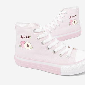 Sweet Peach Canvas Shoes SP15061
