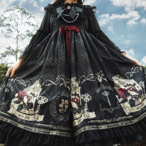 Dark Lolita Sling Dress SS0840
