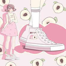 Load image into Gallery viewer, Sweet Peach Canvas Shoes SP15061