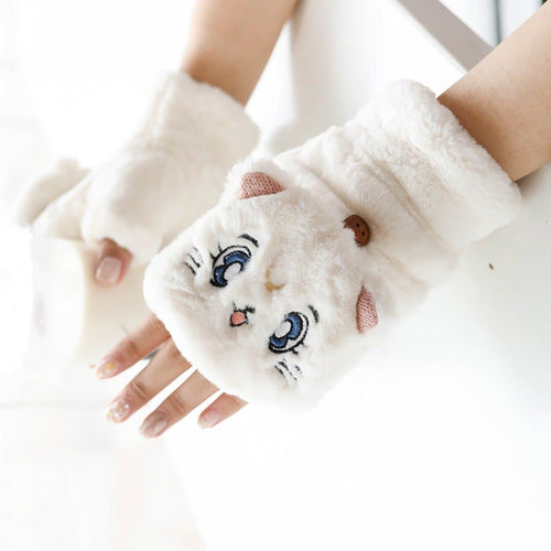 Sailor Moon Kawaii Artemis Plush Gloves S13126