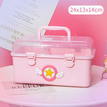 Load image into Gallery viewer, Cute Pink Storage Boxs SP14882