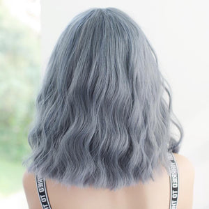 Pastel Cute Blue Grey Lolita Wigs SP14774