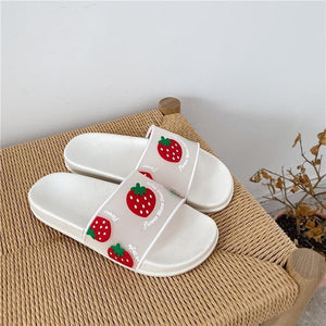 Kawaii Cartoon Fruit Beach Slippers SP14840