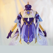 Load image into Gallery viewer, [ Reservation] Game Genshin Impact Keqing Cosplay Costume SP15311