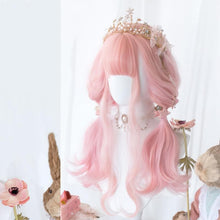 Load image into Gallery viewer, Lolita Cherry Pink Long Curly Wig SP15475