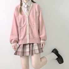 Load image into Gallery viewer, Cute Gril JK School Uniform Cardigan Sweater SP15499