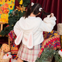 Load image into Gallery viewer, Cute Bunny Ears Lolita Velvet Hoodie Pullover SS0738