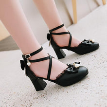 Load image into Gallery viewer, Lovely Lolita Princess Melu High Heels Shoes SP15305