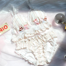 Load image into Gallery viewer, Vintage Cute Lolita Bra Suit SP15300