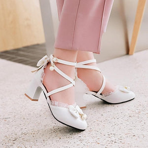 Lovely Lolita Princess Melu High Heels Shoes SP15305