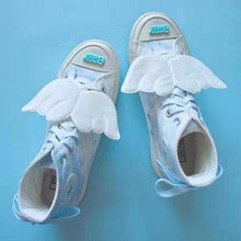 Load image into Gallery viewer, Blue Sky Wings Canvas Shoes SP14485