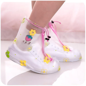 Cute Rainy Day Shoes Cover SS0355
