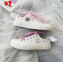 Load image into Gallery viewer, Sailor Moon Wings Canvas Shoes SP14370