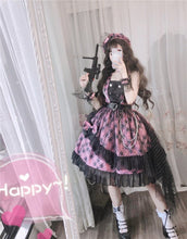 Load image into Gallery viewer, Lolita [Sweetheart Sniper] Punk Dress SP15163