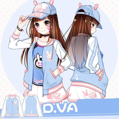 Overwatch D.VA Baseball Jacket SP168551