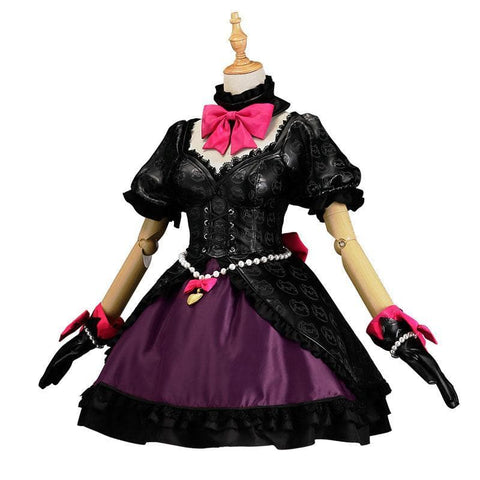 Free DHL Shipping {Reservation} Overwatch D.Va Cat Girl  Black Lolita Dress SP1812077